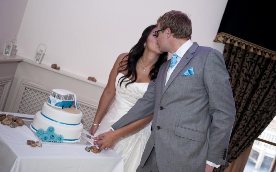VW Campervan Wedding Cake